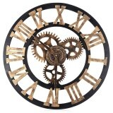 โปรโมชั่น 17 7 Inch 3D Large Retro Decorative Wall Clock Big Art Gear Design Intl ใน จีน