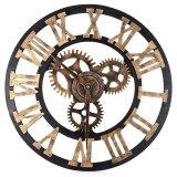 ซื้อ 17 7 Inch 3D Large Retro Decorative Wall Clock Big Art Gear Design Intl ถูก ใน จีน