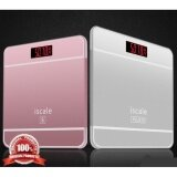 ซื้อ เครื่องชั่งน้ำหนักดิจิตอล180Kg Iscale Se Bathroom Floor Body Fat Scale Household Smart Electronic Digital Weight Scale Health Lcd Backlight Display Scale Pink 666