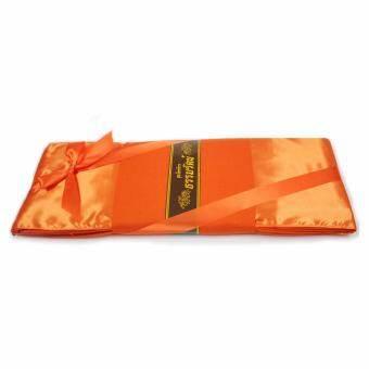 แนะนำ ผ้าไตรจีวรธรรมรัตน์ ไตรอาศัย (ผ้าโทเร) สีเหลืองทอง ขนาด 1.90 X 2.80 ม.