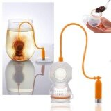 1Pc Deep Tea Infuser Scuba Loose Leaf Mug Strainer Orange Color Filter Intl จีน