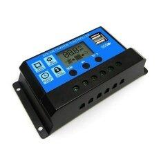 ขาย 1Pc Pwm 10A Dual Usb Solar Panel Battery Regulator Charge Controller 12V 24V Intl จีน ถูก