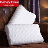 ราคา 1Pcs 50X30Cm Slow Rebound Cotton Bed Memory Pillow Neck Head Support Cushion Intl Unbranded Generic