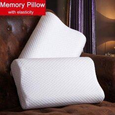 ทบทวน 1Pcs 50X30Cm Slow Rebound Cotton Bed Memory Pillow Neck Head Support Cushion Intl Unbranded Generic