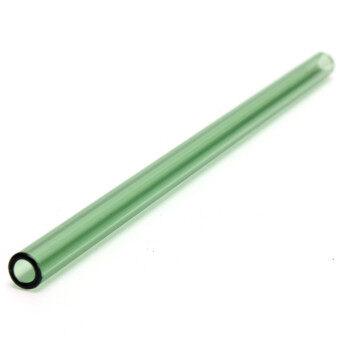 1 ชิ้น 8 นิ้วนำกลับมาใช้ใหม่แก้วฟางจัดงานเลี้ยงวันเกิดดื่มน้ำผลไม้สีเขียว-นานาชาติ