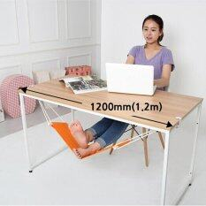 ขาย 1Pcs New Portable Novelty Mini Office Foot Rest Stand Adjustable Desk Feet Hammock Intl ถูก จีน
