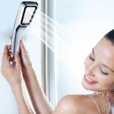 ซื้อ 1Pcs Pressurized Water Saving Shower Head Bathroom Hand Shower Water Booster Showerhead Faucet Bathroom Accessories High Quality Intl ออนไลน์