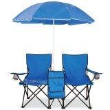 เก้าอี้ปิกนิก 2 ที่นั่ง พร้อมร่ม ใหม่ล่าสุด