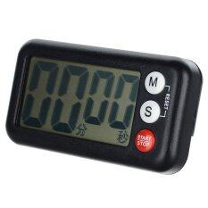 ส่วนลด 2 6 Lcd Digital Kitchen Timer W Count Up Count Down Function Black Intl ฮ่องกง