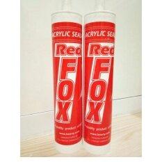ราคา กาวซิลิโคนอะครีลิค ทาสีทับได้ เป็นวัสดุยาแนวกันน้ำเกรดพิเศษใช้อุดรอยต่อ สีเทา 2หลอด ใหม่