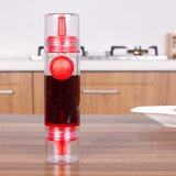 ขาย 2 In 1 Cooking Olive Oil Sprayer Dispenser Cruet Kitchen Pastry Tools Red ใหม่
