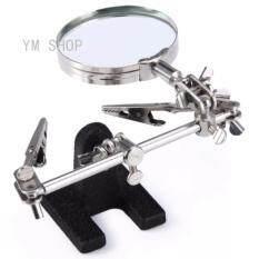 ขาย แท่นจับยึดชิ้นงานเล็ก 2 แขนพร้อมแว่นขยาย Jm 501 สำหรับงานซ่อมแซมที่ต้้องใช้แว่นขยาย Unbranded Generic เป็นต้นฉบับ