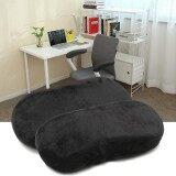 ส่วนลด 2 Pcs Memory Foam Armrest Cushion Chair Mats Pads Elbow Arm Rest Cover Black Intl Unbranded Generic ใน จีน