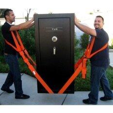 ราคา 2 ชิ้นยกไหล่และสายรัดสำหรับพกพาเฟอร์นิเจอร์เครื่องใช้ไฟฟ้าที่นอนฯลฯความยาว 2 7 เมตร สีส้ม ถูก