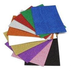 ราคา 20 29 5Cm 2Mm Chiyogami Sponge Glitters Foam Paper Fold Scrapbooking Paper Cutters Crafts Sheet Punch Stamping Diy Decor Intl ใหม่ ถูก