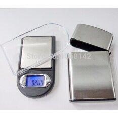ราคา เครื่องชั่งดิจิตอล เครื่องชั่งจิวเวอรี่แบบพกพา รูปทรงแฟชั่น 200 กรัม Digital Pocket Scale Cg Series 01G 200G