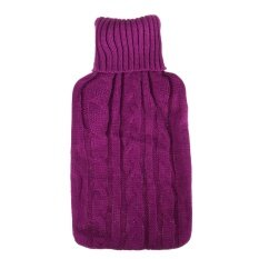 ขาย 2000Ml Knitwear Hot Water Bag Bottle Cover Red Intl ออนไลน์ จีน