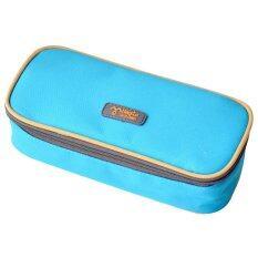 ซื้อ 2558 ใหม่ความจุขนาดเด็กแฟชั่นหลายฟังก์ชันกล่องดินสอกระเป๋า สีน้ำเงิน จีน