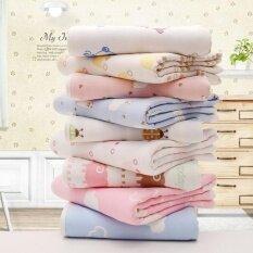ทบทวน ที่สุด 2017 110 110 เซนติเมตรคุณภาพสูงผ้าฝ้ายผ้าคลุมเตียงเด็กเป็นทารกขนาดใหญ่ฝ้ายผ้าเช็ดตัว