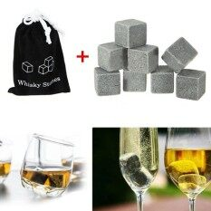 ราคา 20Pcs Whiskey Whisky Scotch Soapstone Ice Cube Stone Rocks For Bar Home Intl