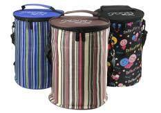 ทบทวน 20X30Cm Durable Large Insulated Lunch Bag Box Bucket Cooler Bag Tote Picnic Food Storage Containers Organizer With Shoulder Strap Coffee Stripe Intl