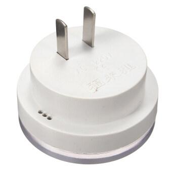 220 โวลต์ 3-7 วัตต์ควบคุมเสียงด้วยเสียงเซ็นเซอร์หลอดไฟโคมไฟบันไดไฟ US ปลั๊ก