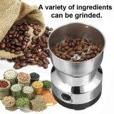 ทบทวน 220V Electric Stainless Steel Grinding Milling Machine Coffee Bean Grinder Sliver Intl