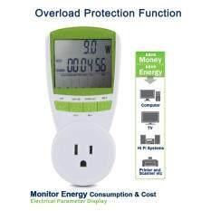 ซื้อ เครื่องวัดพลังงาน รองรับ 220V ในไทย Power Energy Watt Meter Lcd Monitor Ts 838 Watt Voltage Current Frequency Analyzer For Bitcoin Mining นครราชสีมา