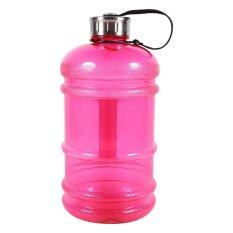 2 2L Large Capacity Sports Gym Training Drink Water Bottle Cap Workout Kettle Pink Intl ใน จีน