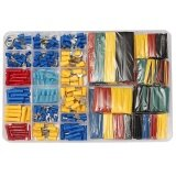 ราคา 230Pcs Terminals 328Pcs Heat Shrink Tube 2 1 Assorted Wire Connectors Case Kit Intl ใหม่
