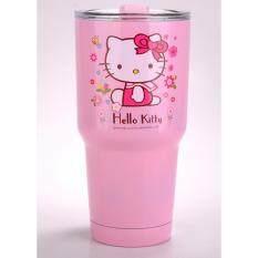 Chill Chill แก้วเก็บความเย็น เก็บความร้อน เก็บน้ำแข็ง ได้นาน24ชั่วโมง  ลาย Hello Kitty 3.
