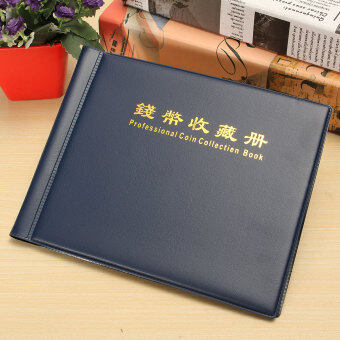 240 Collection Storage Penny Pockets Money Album Book Collecting Coin Holders - Intl