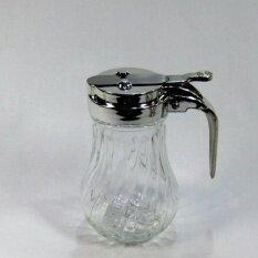 ขวดแก้วสำหรับใส่น้ำผึ้ง น้ำเชื่อม เครื่องปรุง ขนาด 240 Ml. (3 ชิ้น).