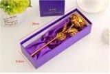 ราคา 24K Gold Foil Artificial Rose Flowers Gift Decoration Gold Intl ใหม่