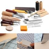 ขาย 25 Pcs Set Stitching Carving Working Diy Hand Sewing Saddle Groover Punch Tools Leather Craft Sets Intl ถูก จีน