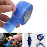 ซื้อ เทปซิลิโคนพันละลายหยุดนํ้าฉุกเฉิน สีฟ้า 2 5Cmx300Cm Diy Silicone Tape Emergency Repair Leak Seal Itp ถูก