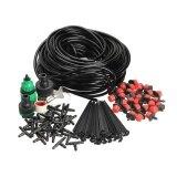 25M Diy Micro Drip Irrigation System Plant Self Watering Garden Hose Kits Intl เป็นต้นฉบับ