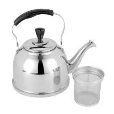 2l - สแตนเลสสตีล Whistling ชากาต้มน้ำกับกรองน้ำร้อนชาเตาตั้งพื้นคลาสสิกออกแบบ - นานาชาติ By Happy Kithchenwarestore.