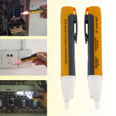 โปรโมชั่น 2Pcs Socket Wall Ac Power Outlet Voltage Detector Sensor Tester Electric Test Pen Led Light Voltage Indicator 90 1000V Intl ใน จีน