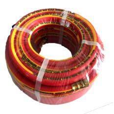 ขาย สายพ่นยา 3 ชั้น ยาว 20 เมตร ขนาด 8 5 X 14 Mm สีแดง