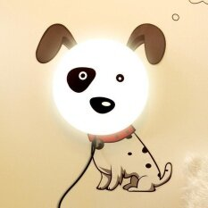 ขาย โคมไฟติดผนัง 3 มิติ รูปหมาลายจุด 3D Lamp Sticker Wallpaper ผู้ค้าส่ง