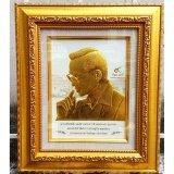 ขาย กรอบรูปในหลวงพิมพ์นูน 3 มิติเคลือบทอง ลายทรงพระเสโท ขนาดตั้งโต๊ะ Panothaishop ผู้ค้าส่ง