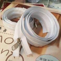 1 Free 1 : ซิปตัด ซิปไนล่อน ซิปพลาสติก ซิปหลา สีขาว ฟันเบอร์ 5 ความยาว 90 เซนติเมตร 08zp2110.