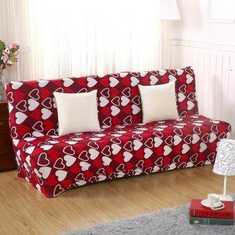 3-Seat Sofa Cover Slipcover Armless Settee Couch Chair Protector Elastic  Sofa Bed Cover   5edee6295