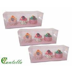 ซื้อ บางบูนผ้าเช็ดหน้า พัฟเค้ก 3 ชิ้น ของขวัญ X 3 กล่อง Bangbon Puff Cake Handkerchief Gift 3 Pieces X 3 Boxes ถูก ใน กรุงเทพมหานคร