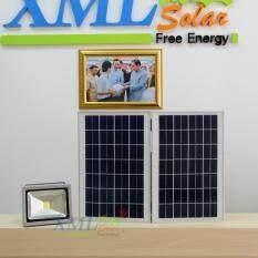 ขาย สปอร์ตไลท์พลังเเสงอาทิตย์ 30 Watt Polycrystalline Solar Panels เเสง ขาว ถูก ใน ไทย
