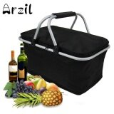 ราคา 30L Large Insulated Thermal Cooler Bag Picnic Camping Lunch Tote Storage Ice Box Black Intl จีน