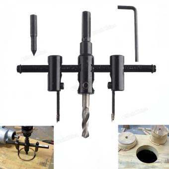 30mm-120mm Woodworking Alloy Steel Adjustable Circle Hole Cutter Set-