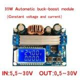 ขาย ซื้อ ออนไลน์ 30V 4A Lcd Constant Current Voltage Adjustable Automatic Step Up Down Power Supply Module Intl