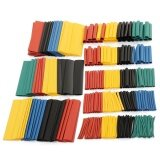 ซื้อ 328Pcs 8Sizes Assorted Polyolefin 2 1 Heat Shrink Tubing Sleeving Wrap Wire Kit Intl